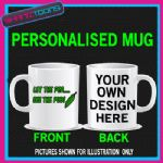 TAKE ME OUT LET PEA SEE POD PADDY COFFEE MUG GREAT GIFT